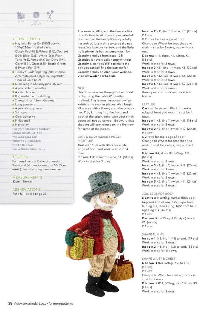 Knitting Toys Magazine : Simply knitting christmas 轻描淡写 my patterns