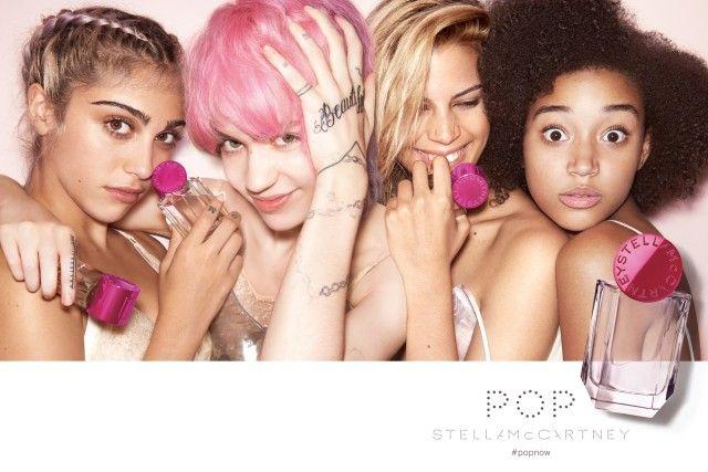 O dream-team da campanha do perfume Pop, de Stella McCartney (Foto: Reprodução)