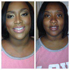 Bridal makeup, wedding makeup, makeup for black women, makeup for African American women. www.jerilynmccullough.com Makeup by Jerilyn McCullough  Houston,TX Beauty/Bridal Professional Makeup Artist   MAKEOVERS
