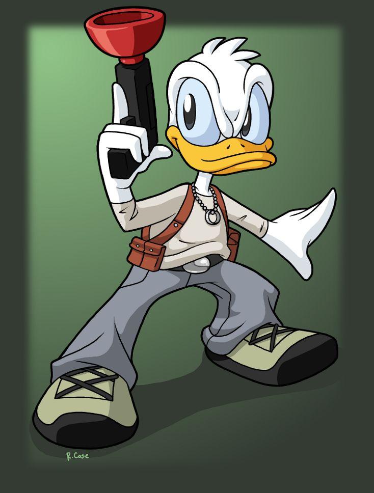 Donald Duck meets Uncharted