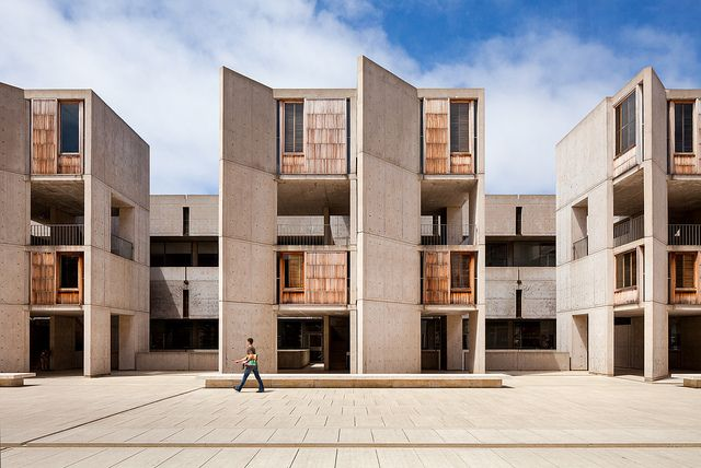 Salk Institute /architect Louis Kahn