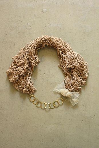 Brass Hoop Chain Bracelet | IRRE