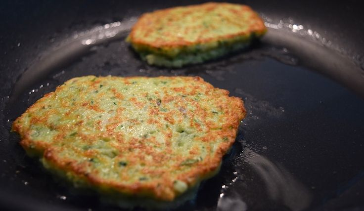 Courgette-kaasburgers
