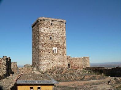 Castillo de Feria. Viajar por Extremadura