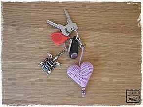 Kľúčenky - ...fialka... - 6948092_