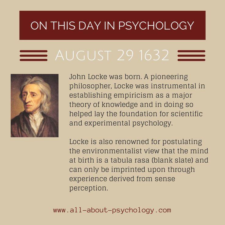 an analysis of john lockes theory of tabula rasa Human mind is a tabula rasa keywords: tabula rasa, blank slate, john locke the modern theory specifically addressed to locke's.
