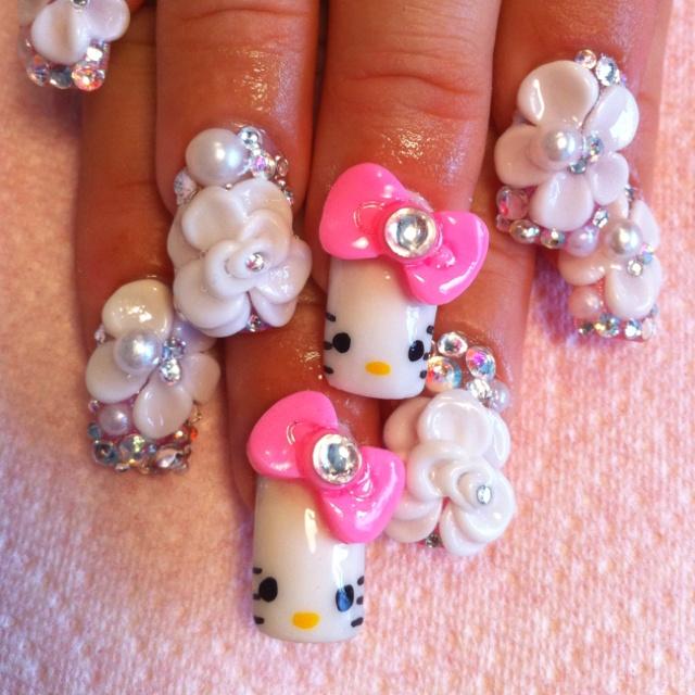 30 best My Japanese 3D Nails images on Pinterest | 3d nails ...