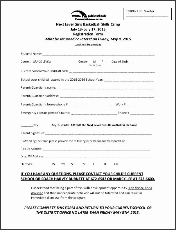 Camp Registration Form Template Word Luxury 6 Camp Registration Form Template Word Sampletempl Registration Form Sample Reward Chart Template Registration Form