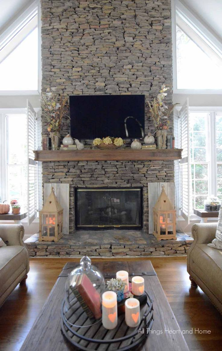 Fall Home Tour 137 best Mantel Decor