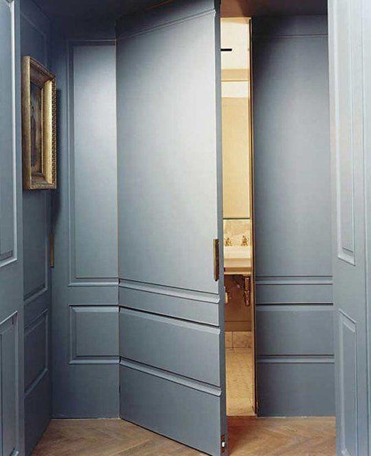 Secret Spaces: Hidden Doors in Paneled Walls | Apartment Therapy