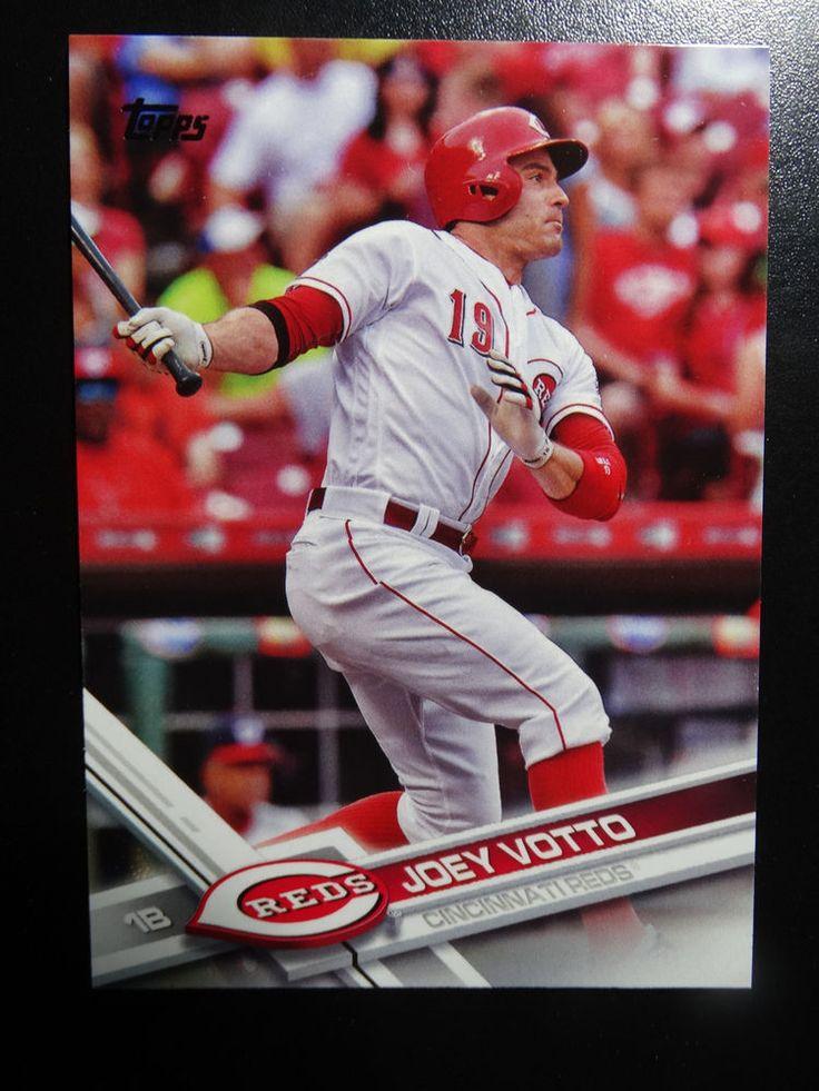 2017 Topps Series 1 #288 Joey Votto Cincinnati Reds Baseball Card #Topps #CincinnatiReds