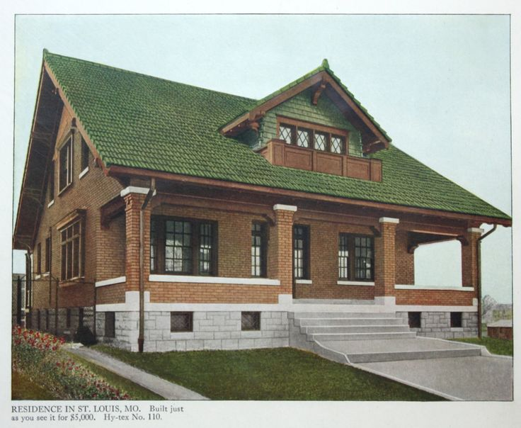 442 best images about house exteriors early 1900s on for 1900 bungalow house plans