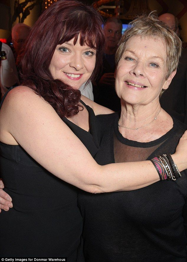 Family venture:Judi also joined forces with her daughter, Finty Williams, to play a featu...