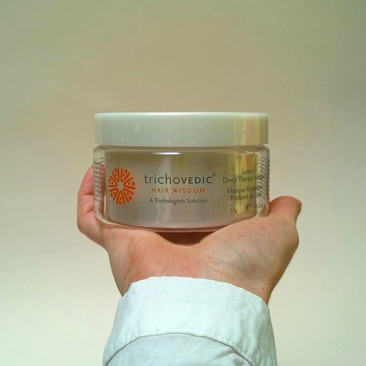 Blending KWS TriProtein Complex macadamia argan and jojoba oils shea butter aloe vera panthenol and silcare Luxury Deep Therapy Treatment Masque will rejuvenate dry brittle and damaged hair. #trichovedic #hairwisdom #luxuryhaircare #hairtreatment