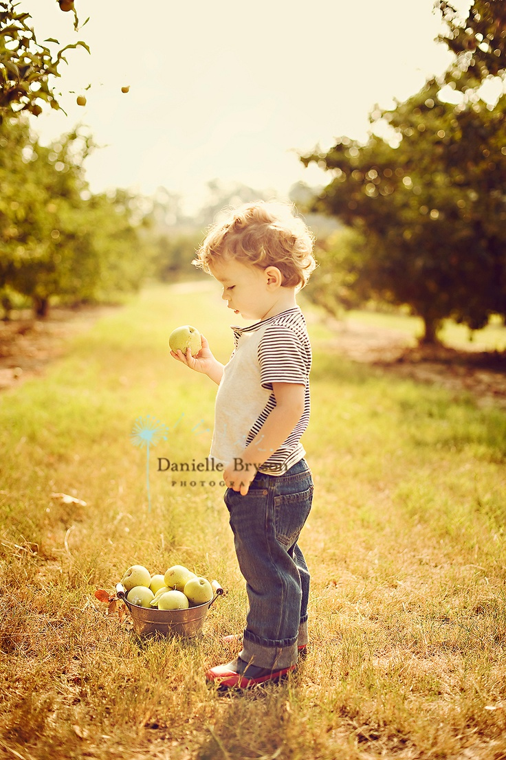 Really wanting to do an apple orchard photo shoot lately...