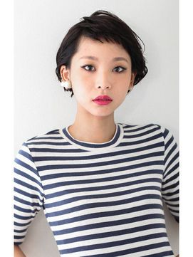 ★ 黒髪 ★ ショートカット〜ミディアム ★ 2015 春 ヘアスタイル・ヘアアレンジ・髪型 ★ - NAVER まとめ