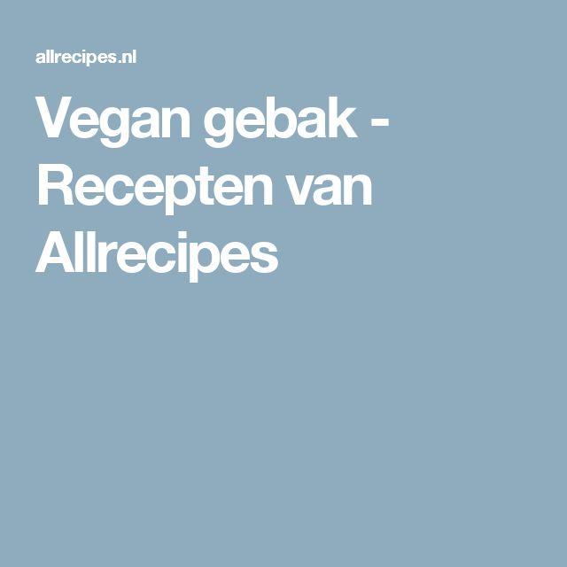 Vegan gebak - Recepten van Allrecipes