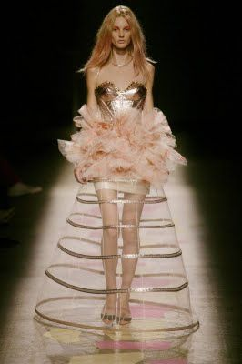 confection from the latest collection of Giles Deacon.