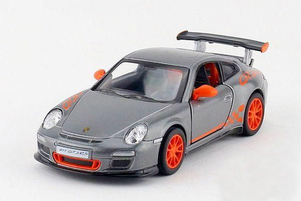 New High Simulation Exquisite Baby Toys New and Original 911 GT3 RS Model Decoration 1:36 Alloy Sports Car Model Excellent Gifts