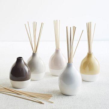 Gorgeous, ceramic diffusers
