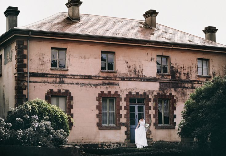 Laura outside Villa Parma in Daylesford. Easily the Best venue I've ever seen for wedding preparation photography. The light, textures, colour and character - Everything is incredible here. They also cater for ceremonies and weddings up to around 40-50 people. www.shaunguestphotography.com.au