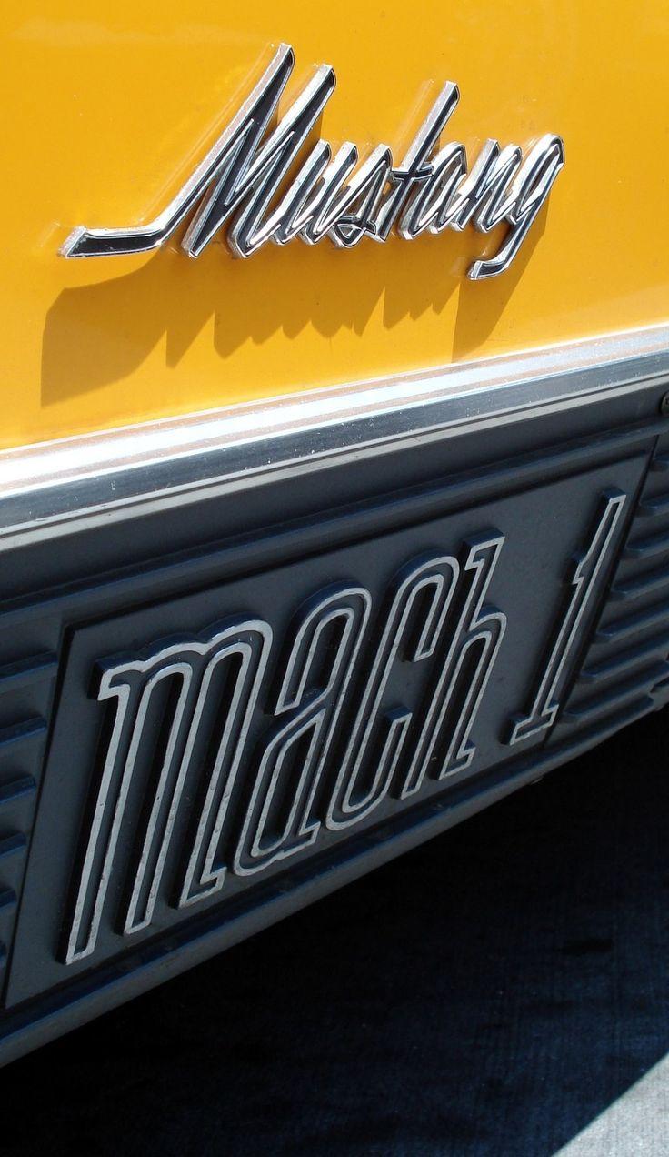 1970 Mustang Mach 1 Emblems by CobaltGriffin.dev… on @deviantART