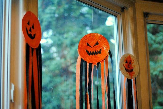 Pumpkin Windcatchers Preschool Craft
