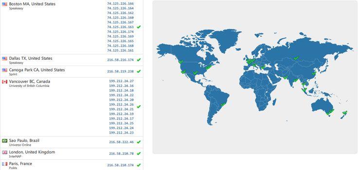 Global DNS Propagation Checker