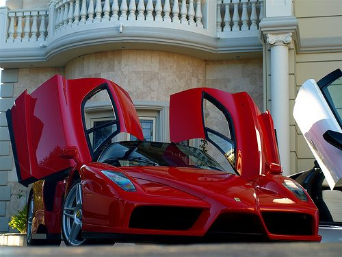 Ferrari. My boys told me my Mothers Day Ferrari was back ordered. I want to believe them!