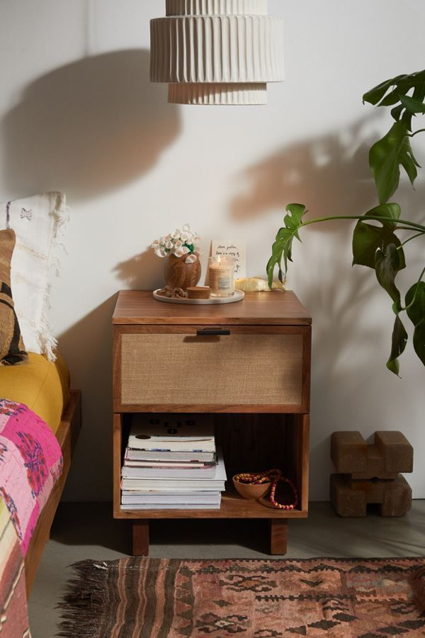 Lucia Nightstand In 2020 With Images Eclectic Nightstand