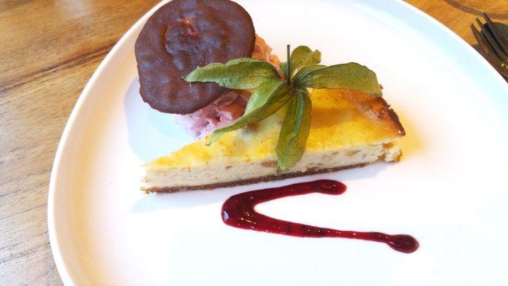 Cheesecake van cantuccini => Restaurant de Schone Lei - Rotterdam
