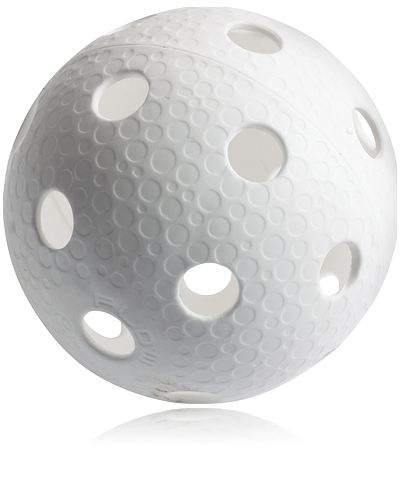 Innebandyboll, AERO WHITE. Se alla innebandybollar - http://www.stadium.se/sport/innebandy/ovrigt/039119/aero-aero-white