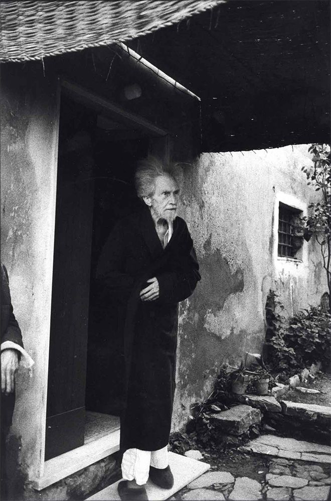 Ezra Pound, Sant'Ambrogio di Rapallo, 1966 | Photo by Lisetta Carmi