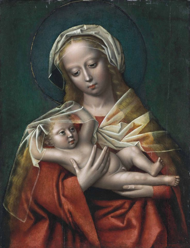 Ambrosius Benson - Madonna and Child. The 16th century