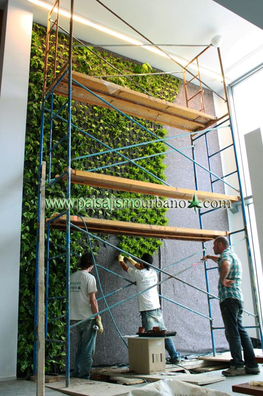 7 best jardin vertical villa de lujo ibiza images on - Paisajismo urbano ...