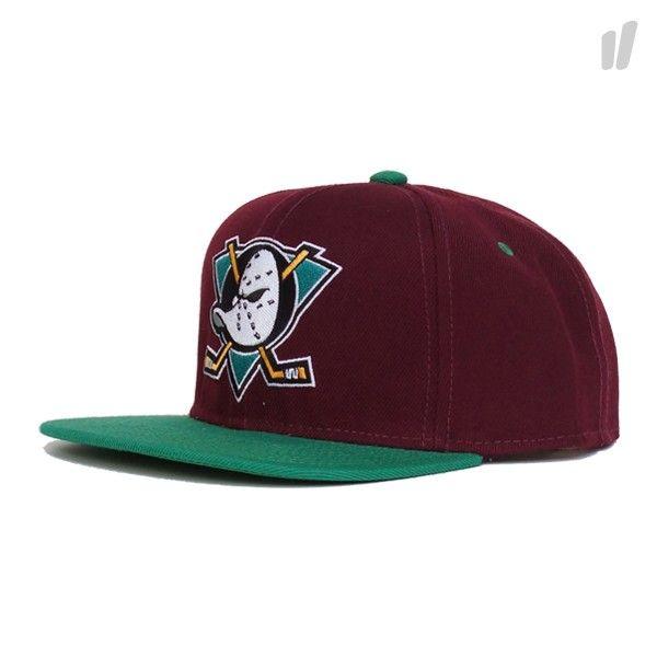 Left Side Mighty Ducks Standard Cap - http://www.overkillshop.com/de/product_info/info/11530/