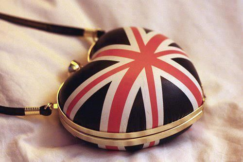 brit bagFashion, Heart, British, Patriots Decor, Unionjack, Jack O'Connel, London Call, Bags, Union Jack