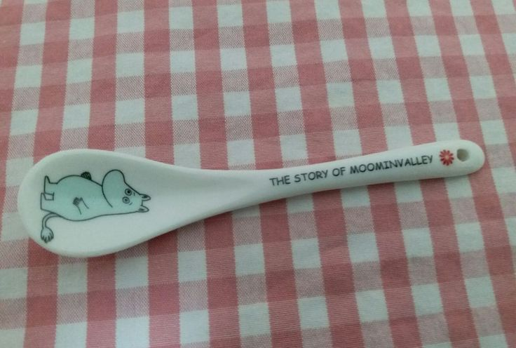 Moomin Valley Characters MoominTroll Ceramic Teaspoon 1 piece  | eBay
