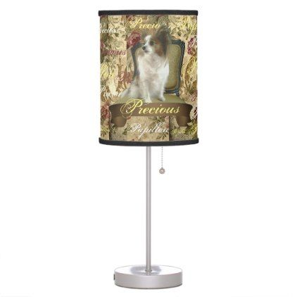 Precious Papillon Victorian Table Lamp - home gifts ideas decor special unique custom individual customized individualized