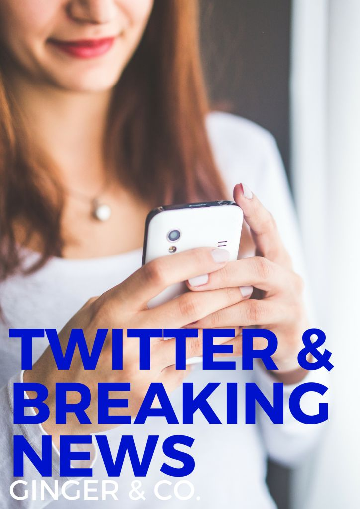 Twitter - The New Breaking News Source