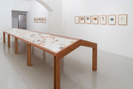 José Antonio Suárez Londoño, A New Larousse, Exhibition view, Galleria Continua San Gimignano, 2016. Photo by Ela Bialkowska