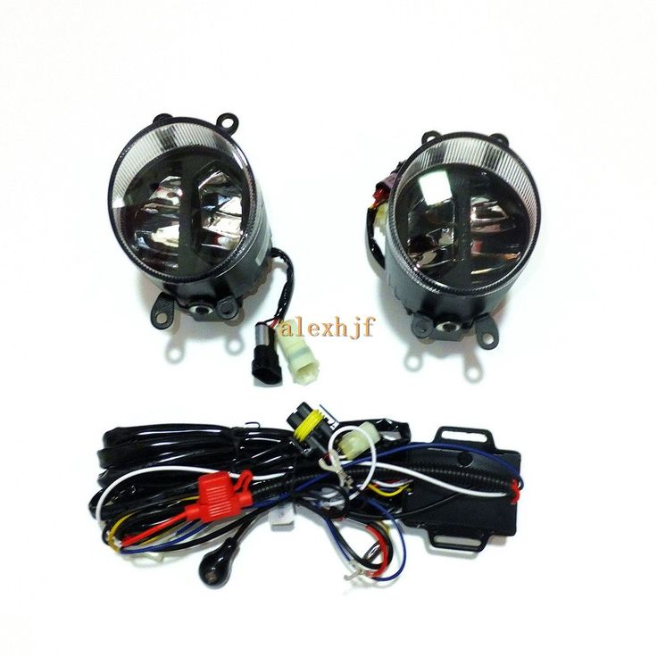 159.99$  Buy now - http://aliv05.worldwells.pw/go.php?t=32670534333 - Yeats 1400LM 24W LED Fog Lamp, High-beam Low-beam + 560LM DRL Case For Scion TC IQ 2012~13 XB 2008~09, Automatic light-sensitive 159.99$
