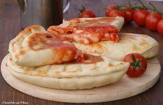 Calzoni alla pizzaiola cotti in padella