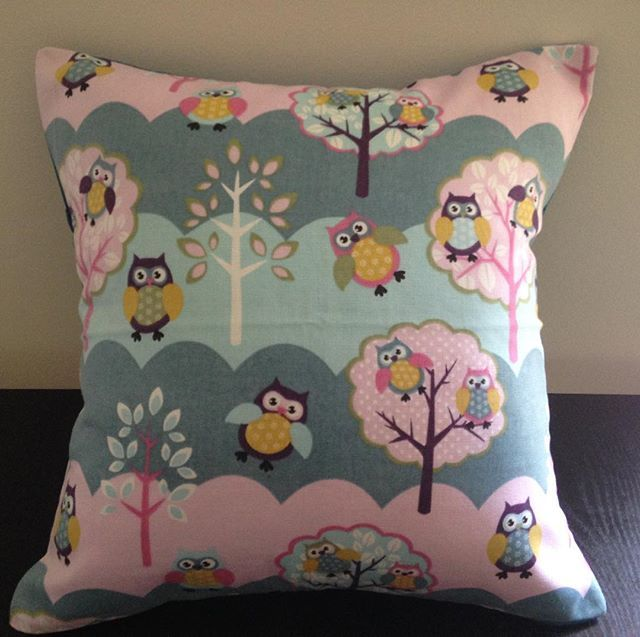 """Owls 16"""" kids scatter cushion covers now available. Heavily discounted. #homemade #kid #owls #fabric #homedecor #decor #interior #scattercushions #cushion #cushioncover #children - Architecture and Home Decor - Bedroom - Bathroom - Kitchen And Living Room Interior Design Decorating Ideas - #architecture #design #interiordesign #diy #homedesign #architect #architectural #homedecor #realestate #contemporaryart #inspiration #creative #decor #decoration"""