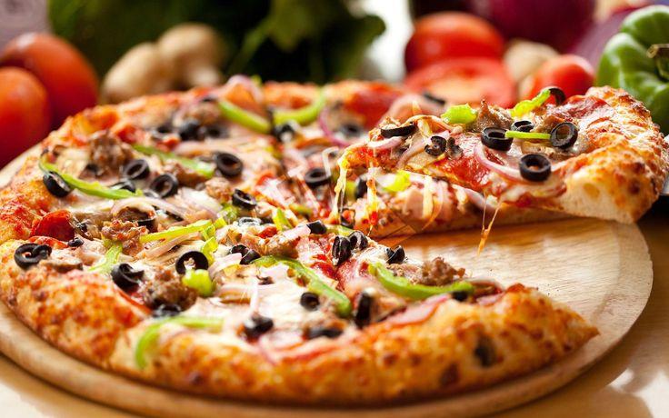 Karışık Büyük Pizza