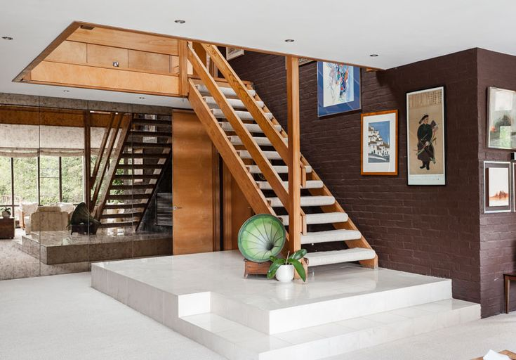 Best 1970S Staircase House House Design Interior Architecture 640 x 480