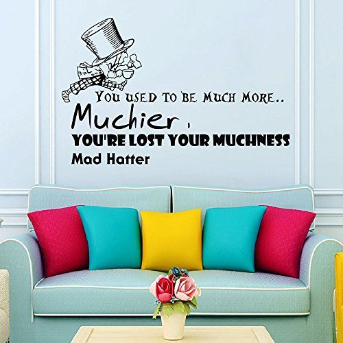 Wall vinyl decal quote sticker home decor art mural you used to be much more