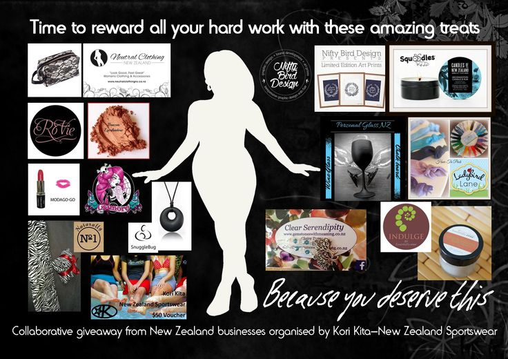 Enter to win: Because you deserve this - a $300 prize pack | http://www.dango.co.nz/s.php?u=D3E4CwJV2477