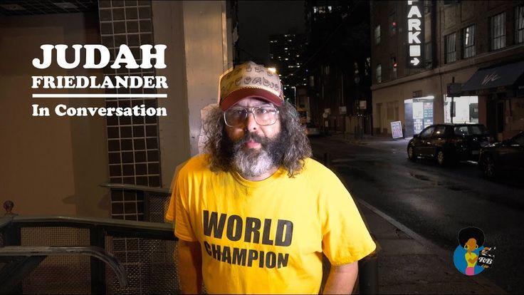 Judah Friedlander - Confronting Racism Through Comedy
