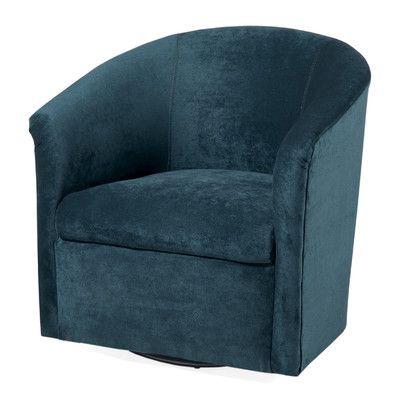 Elizabeth Swivel Barrel Chair   Wayfair
